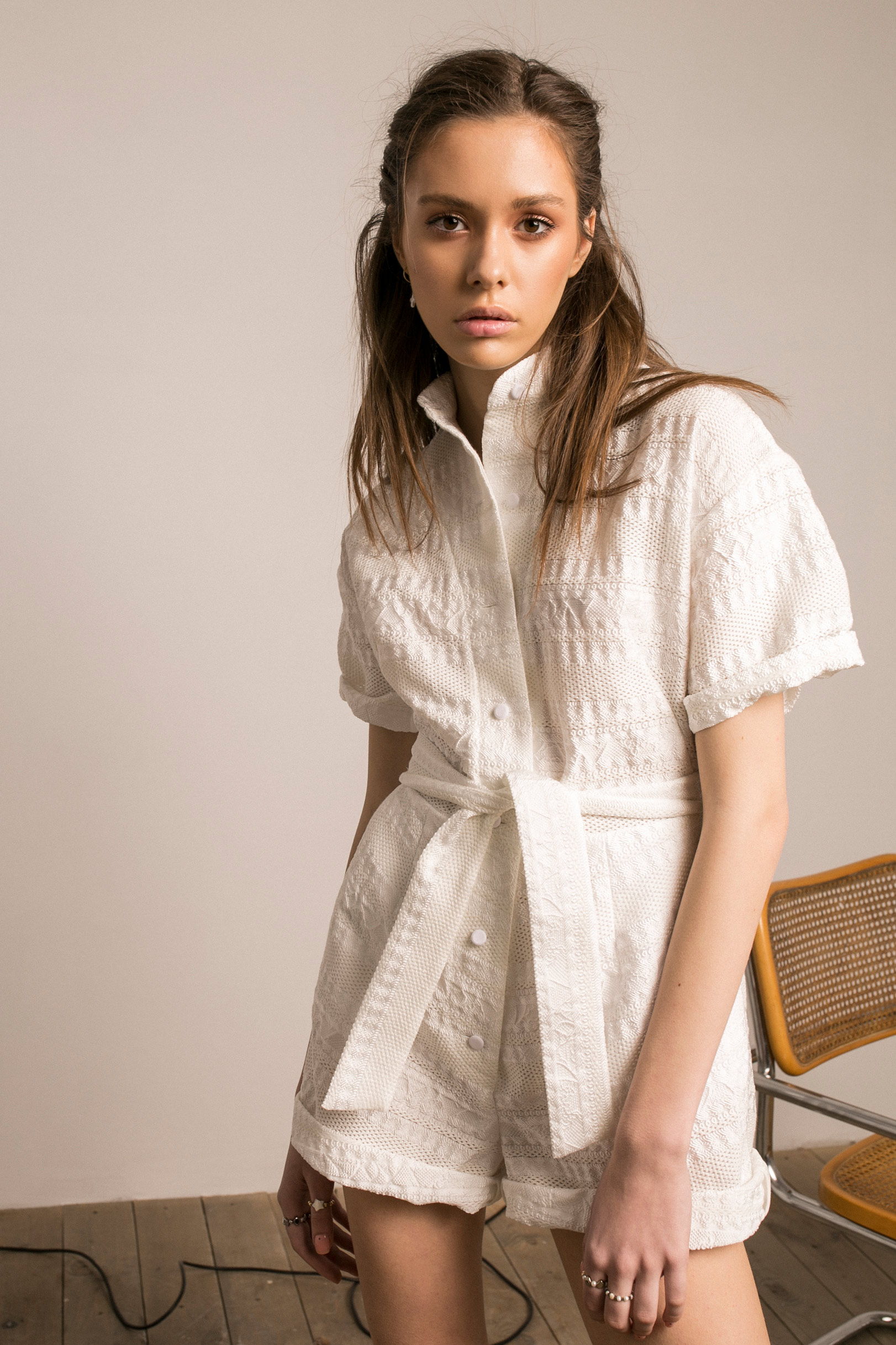 THE WHITISH ROMPER