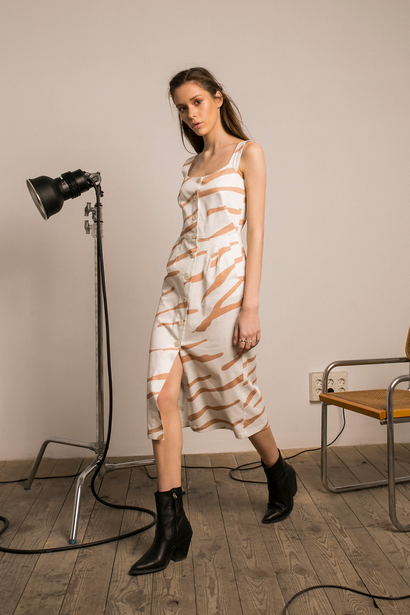 SAFARI MIDI DRESS