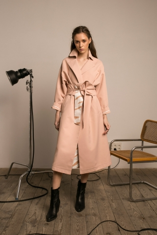 SAFARI OVERSIZED TRENCH