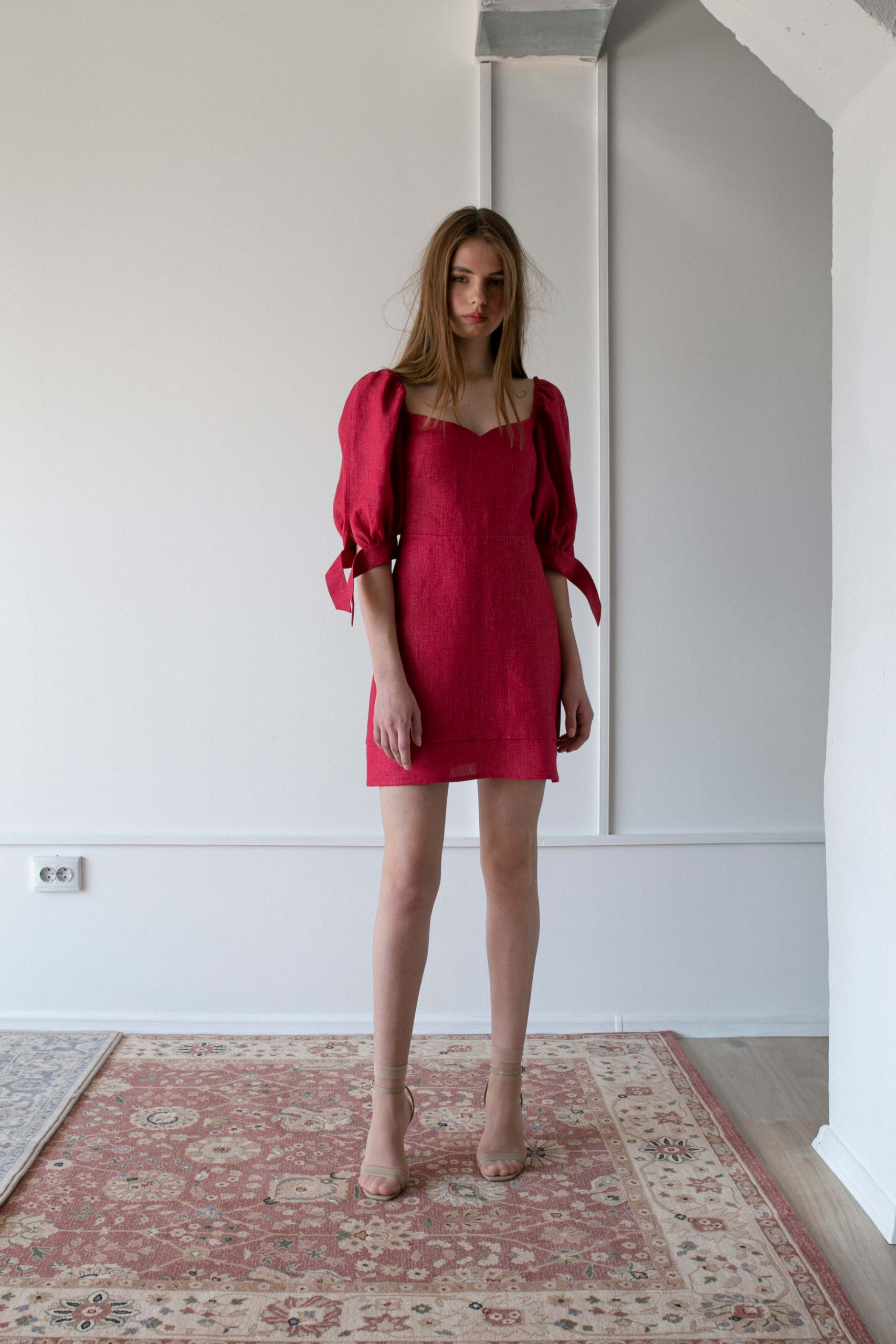RAQUETTE SS20 - Reverie linen dress