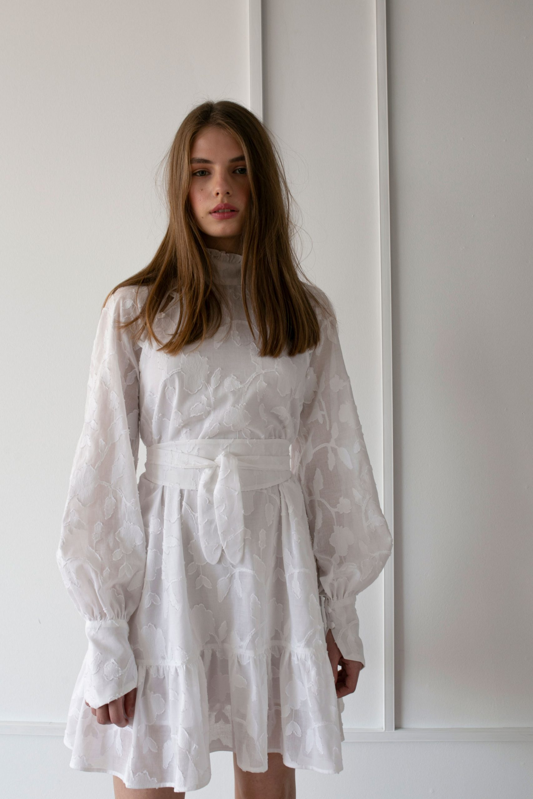 RAQUETTE SS20 - High White dress